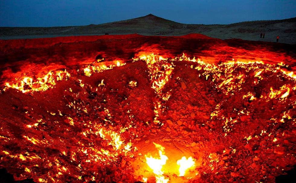Turkménistan: les portes de l'enfer