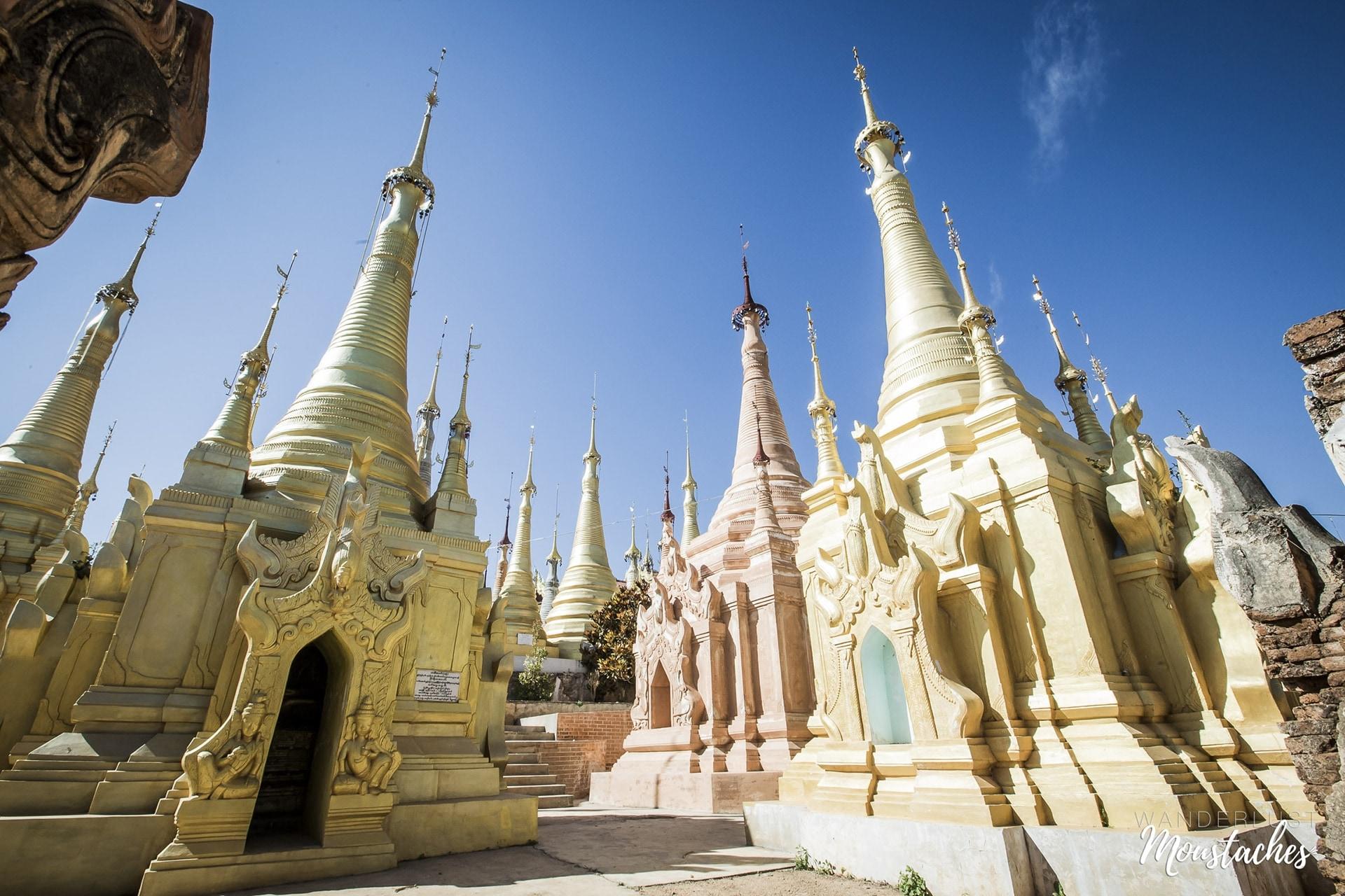 Les pagodes du village deIn dei