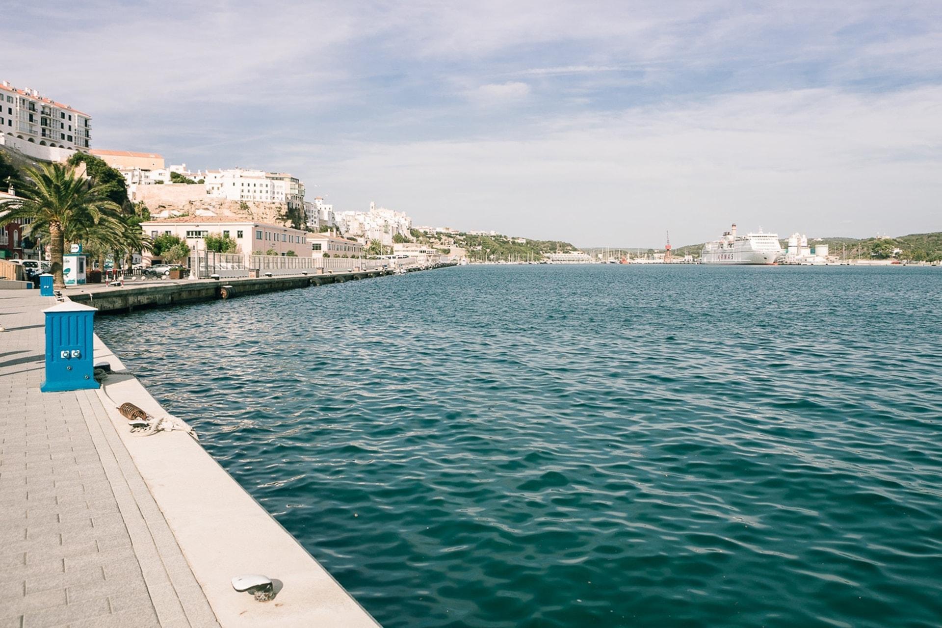 Port de Mahon à Minorque