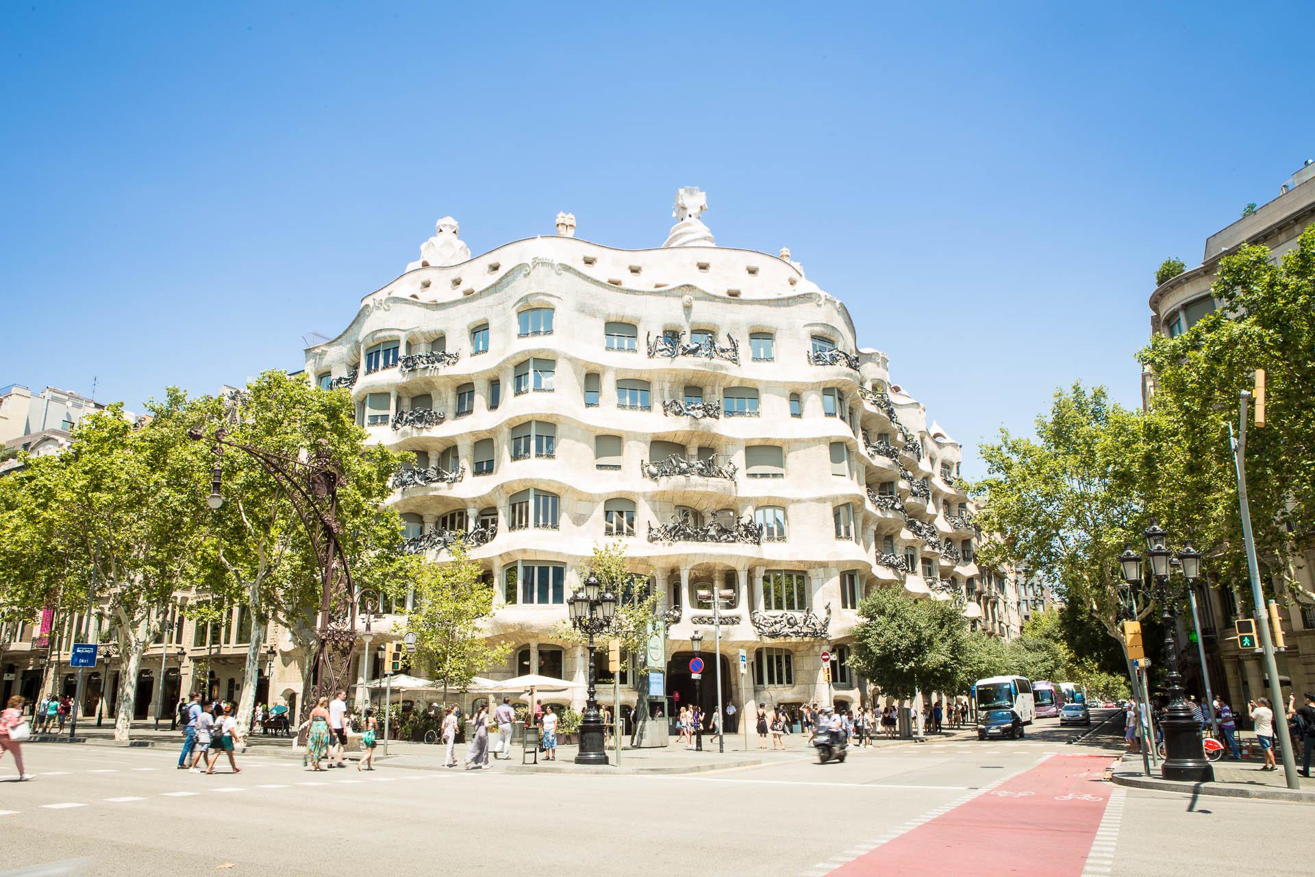 La Perdrera, chef-d'oeuvre de Gaudi