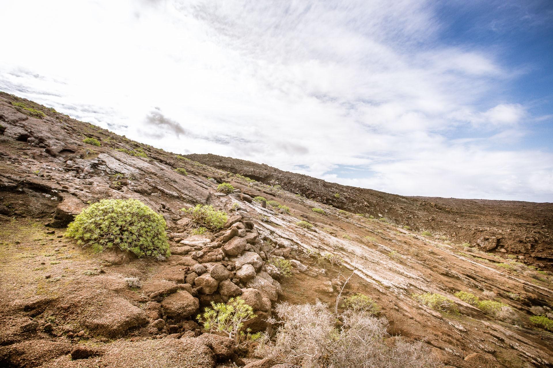 Versant volcan de la Caldera Blanca