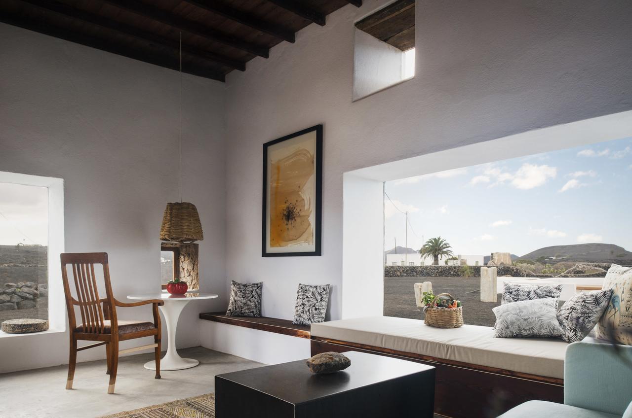Salon de la villa Lanzarote Country
