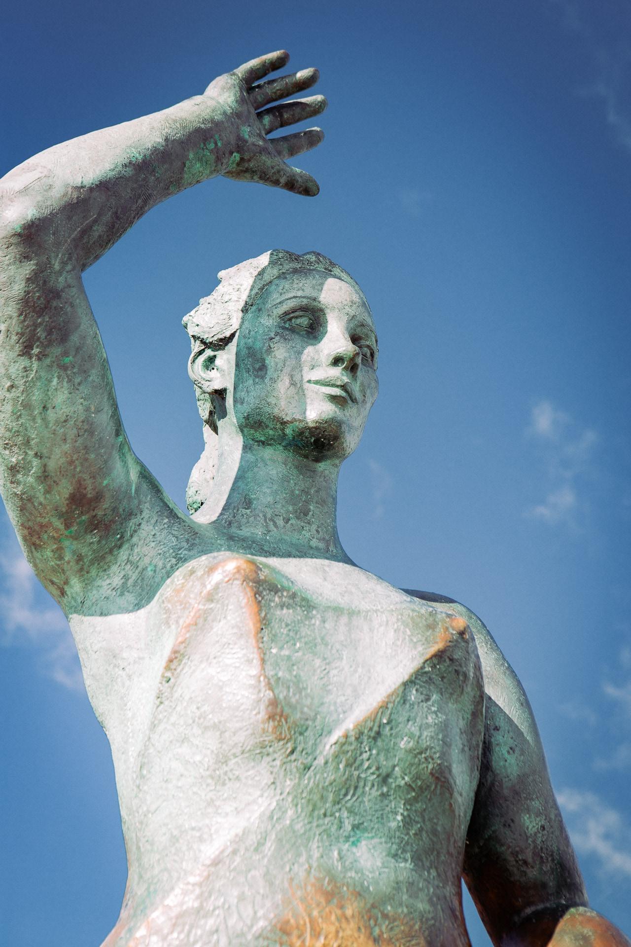 Mujer Marinera à Lloret de Mar