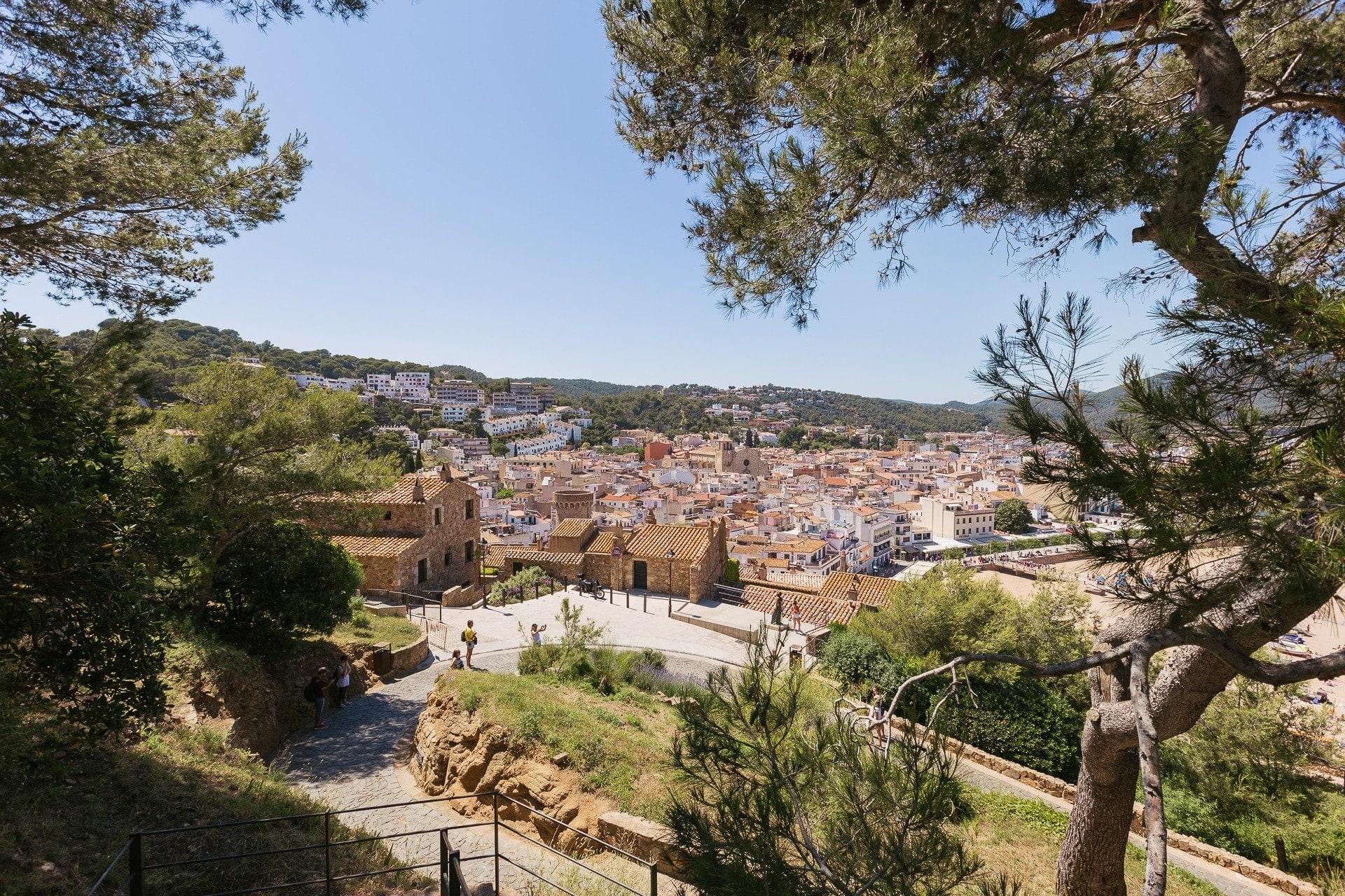 La Ville de Tossa de Mar en Catalogne