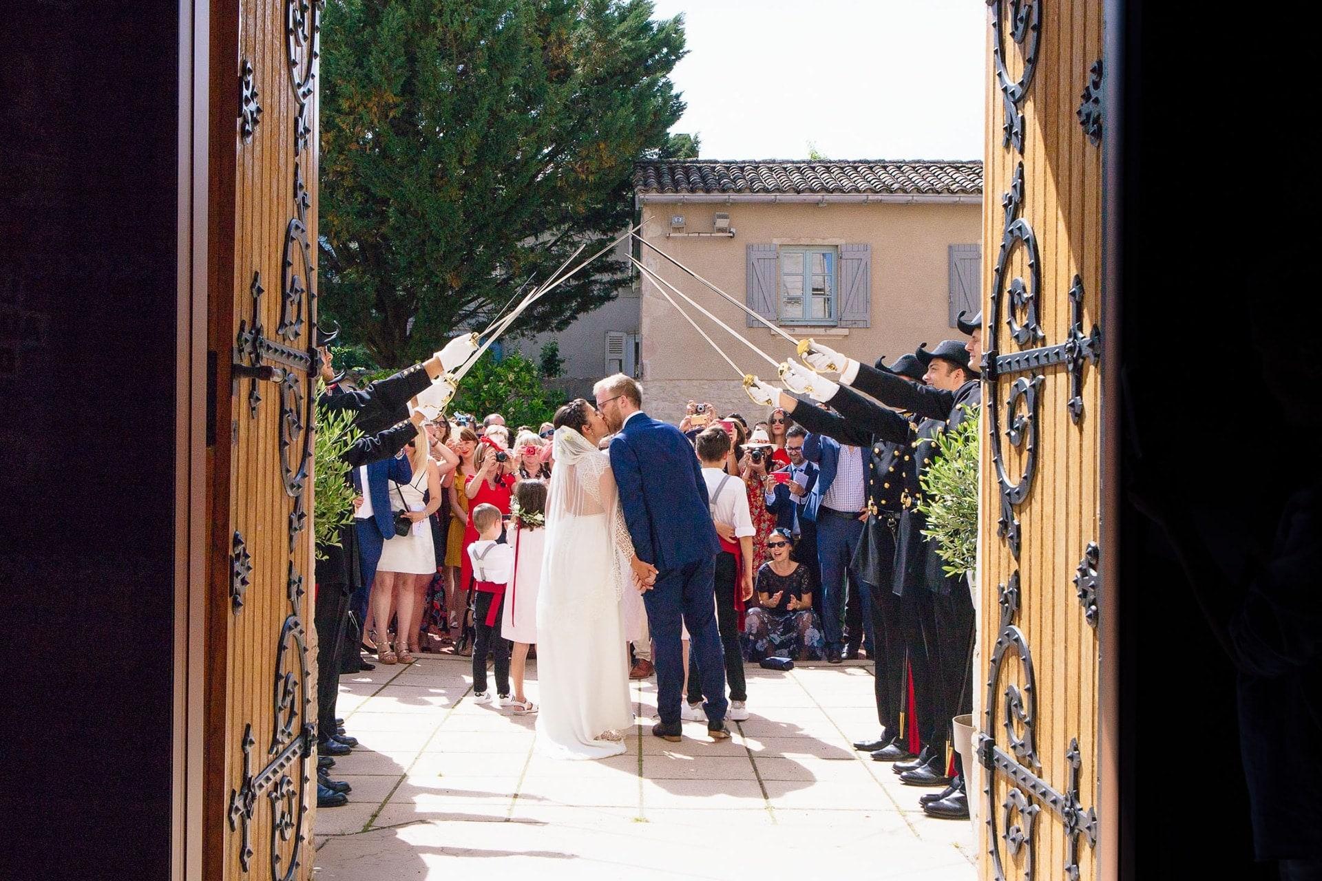 mariage église de Gleizé dans le Beaujolais