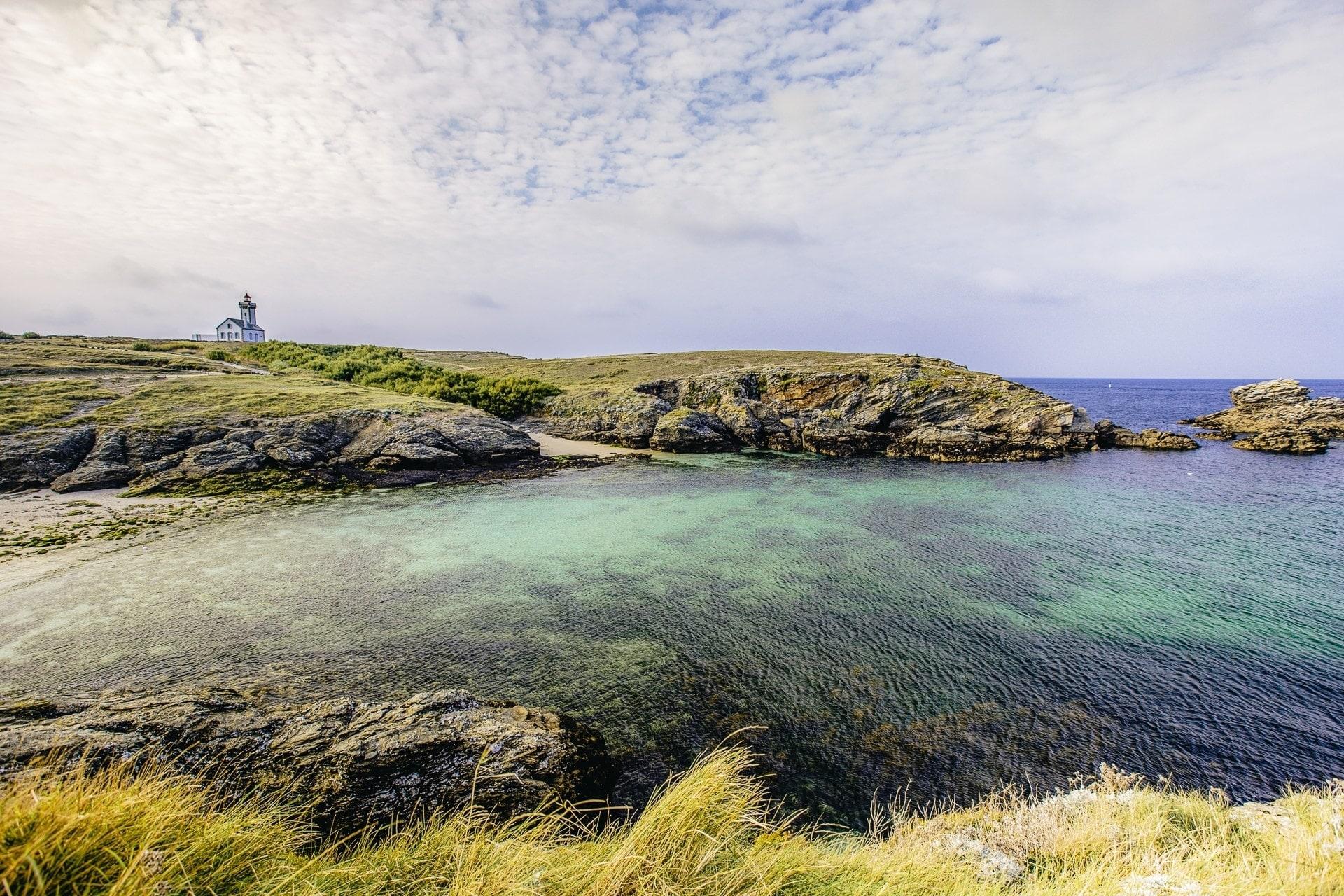 La Pointe des Poulains à Belle-Île-en-mer