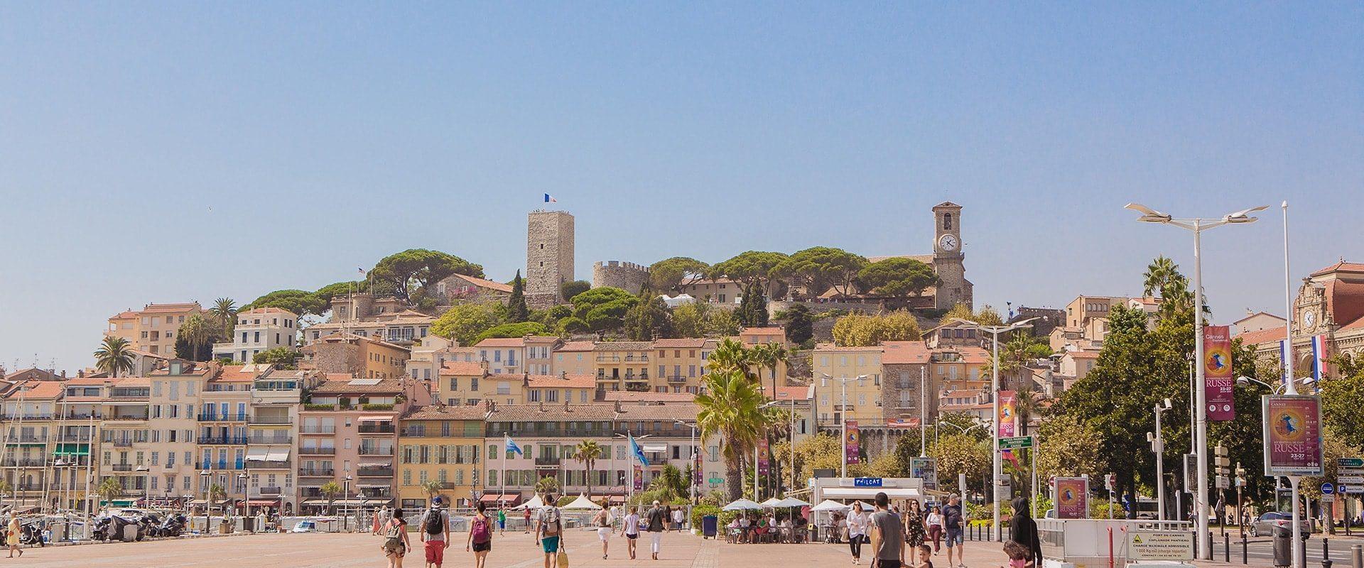 Le Suquet, Quartier Historique De Cannes