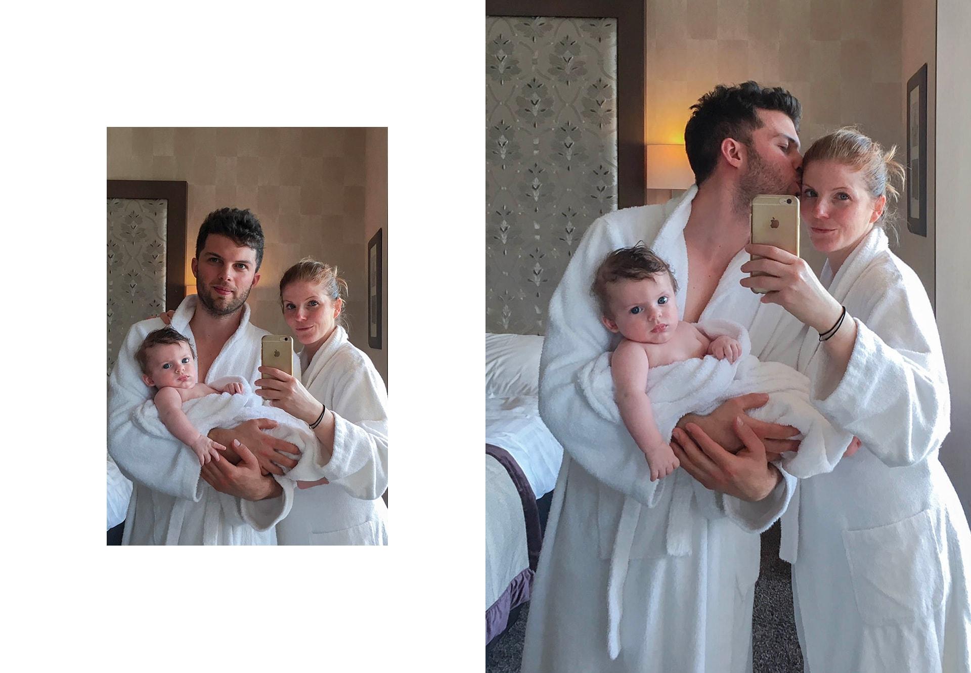 Portrait de famille au Grand Hôtel des Thermes à Saint-Malo