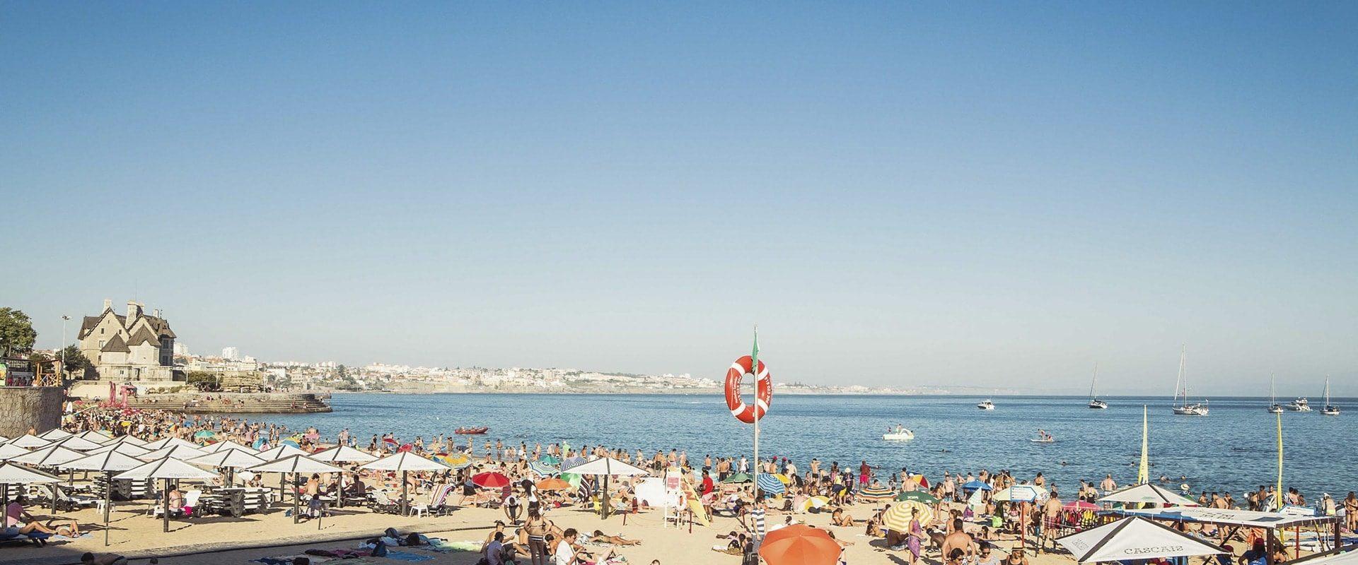 Portugal : Plage Et Soleil à Cascais