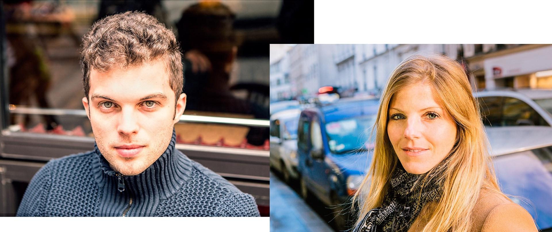 Hugues et Sabine à Paris